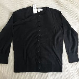 NWT Little black cardigan